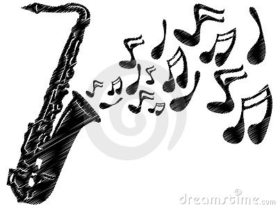 Saxophone clipart saxophone player Playing Clipart clip sax art