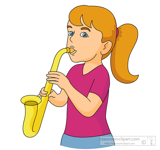 Saxophone clipart saxophone player Graphics  saxophone player Saxaphone