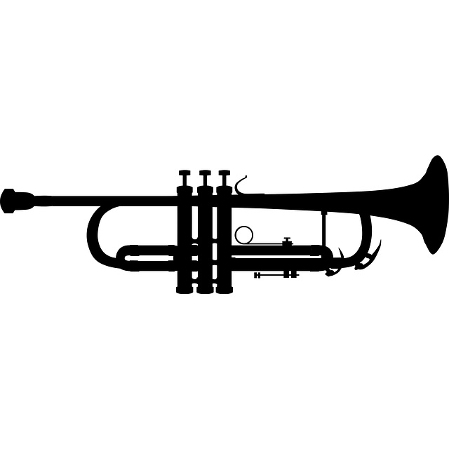 Saxophone clipart trumpet And silhouette trumpet saxophone clipart