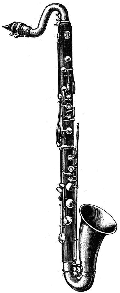 Saxophone clipart wind instrument 25+ Pinterest Top on Bass