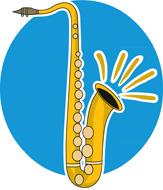 Saxophone clipart wind instrument Clipart Kb  saxphone 48