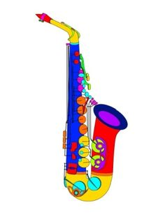 Saxophone clipart wind instrument Saxophone Saxophone Alto Pinterest clipart