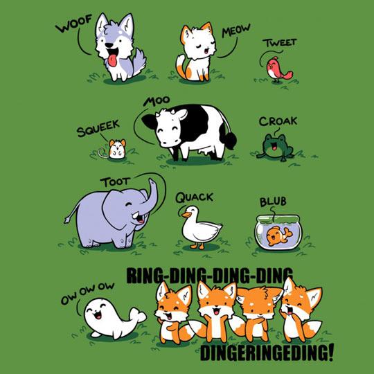 Saying clipart animal sounds #11