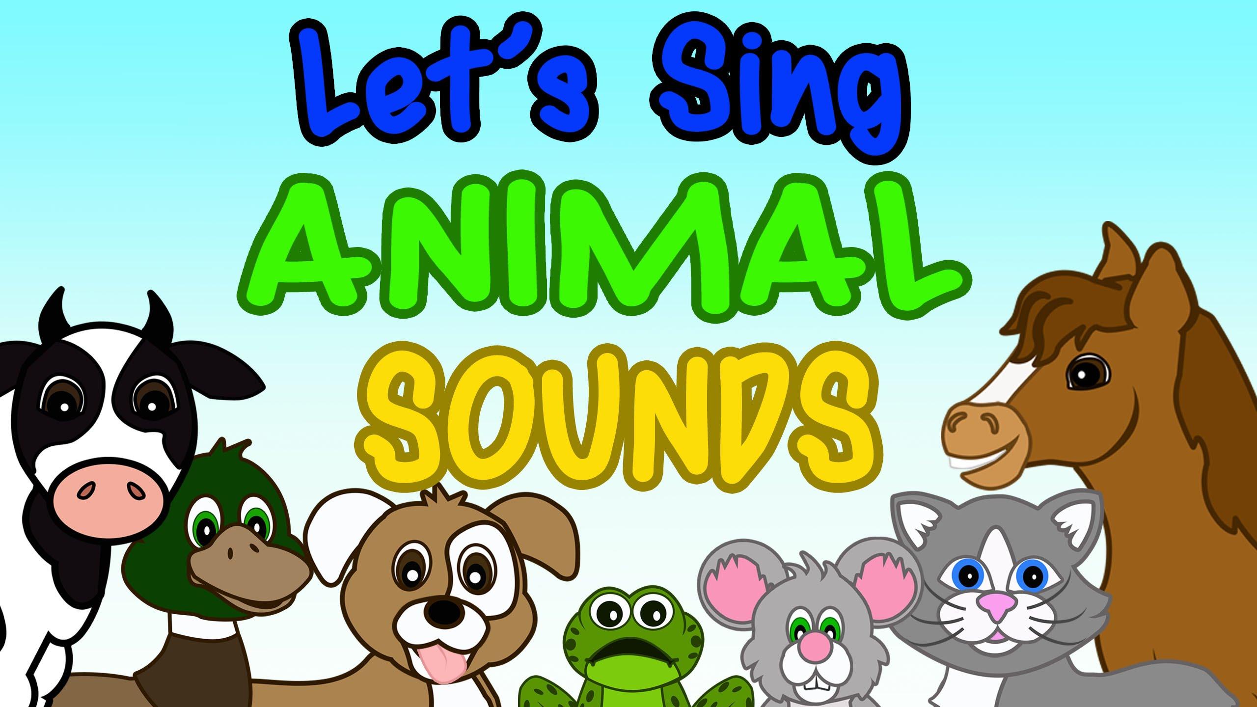 Saying clipart animal sounds #10