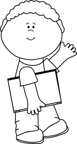 Child clipart black and white Gainer%20clipart  Clipart Books Panda