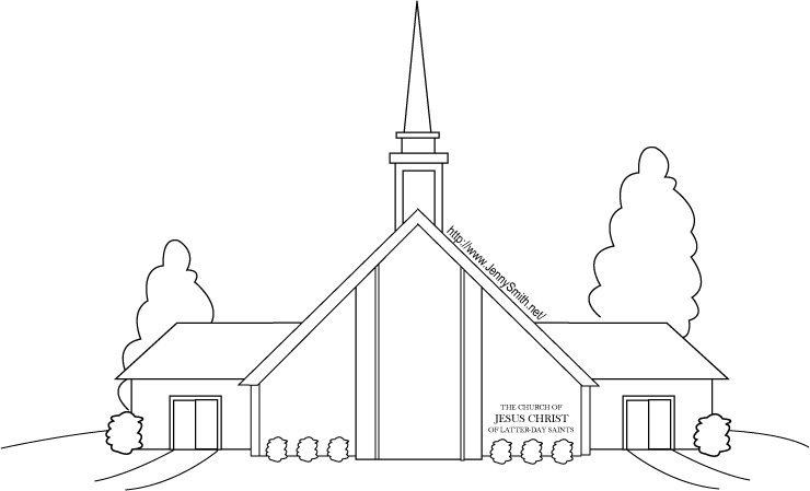 Chapel clipart church attendance Saying jesus day church 44