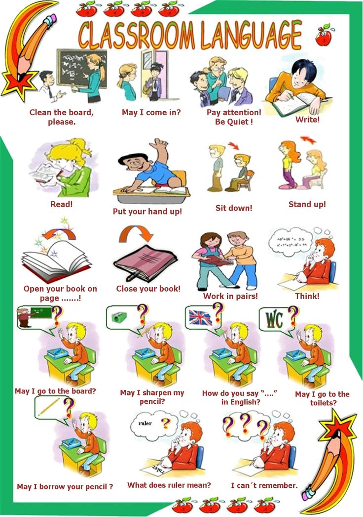 Saying clipart classroom #7