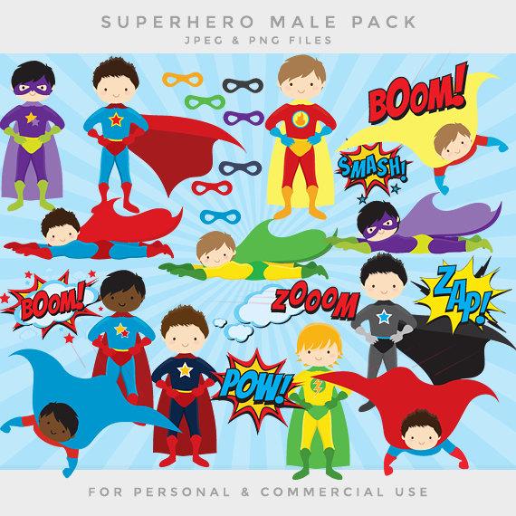 Saying clipart comic book Super men sayings clip art