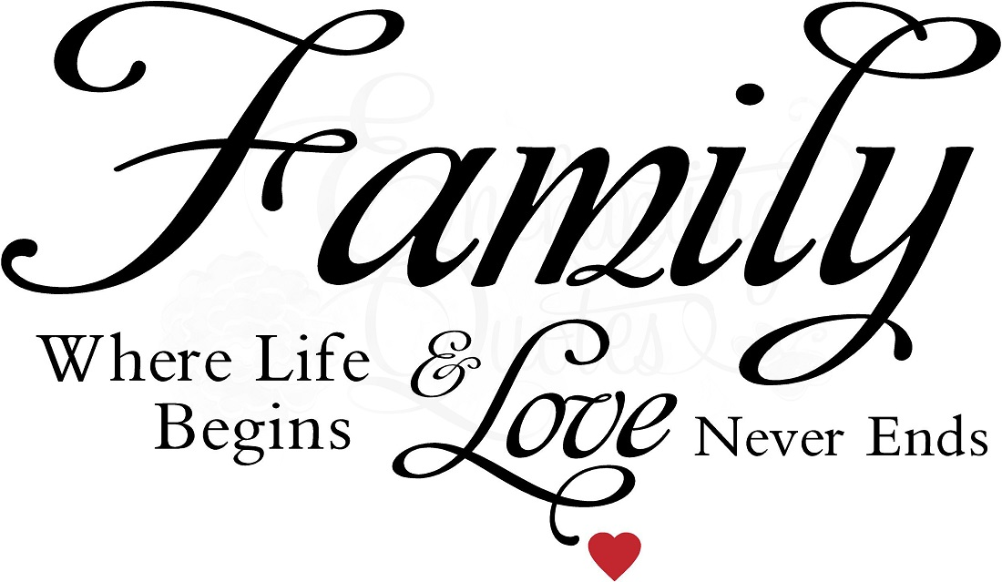 Saying clipart family quotes And Clip svg Art Family