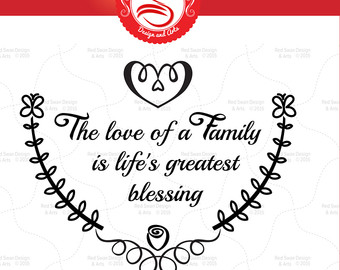 Saying clipart family quotes 10 Quotes SVG Family svg