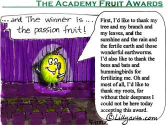 Saying clipart fruit Funny thank Cute academy saying