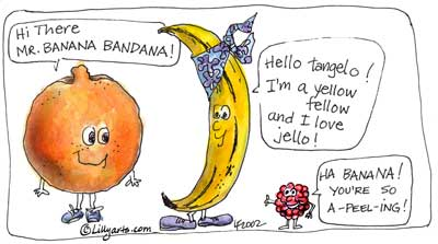 Orange (Fruit) clipart cartoon Fruit with orange free sayings