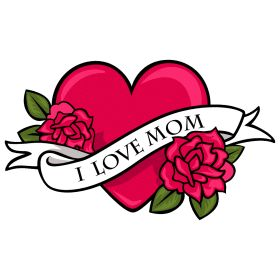 Saying clipart i love my mom Graphics on Worlds images Pinterest