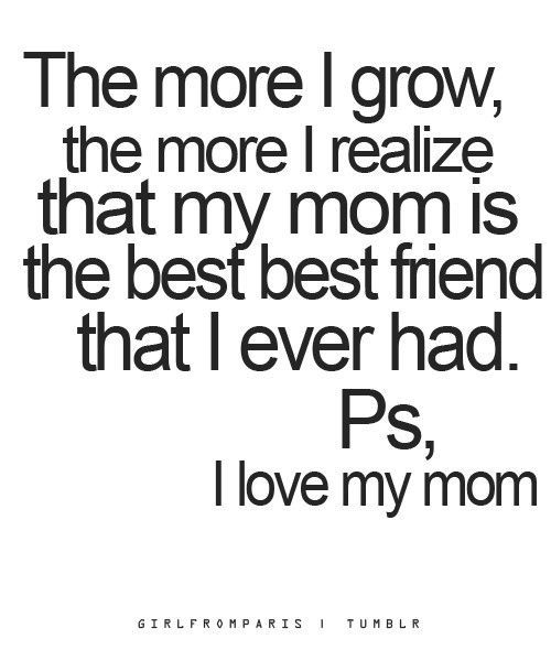 Saying clipart i love my mom Best 25+ friend my Love