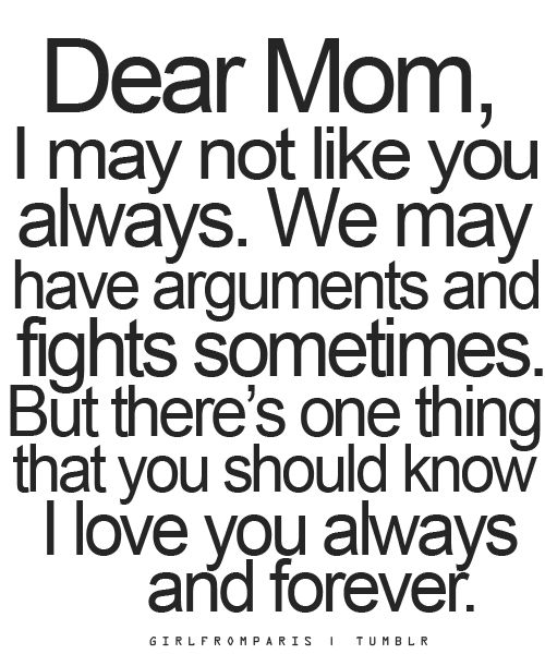 Saying clipart i love my mom #3