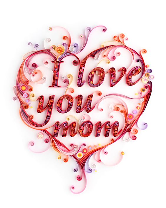 Saying clipart i love my mom #11