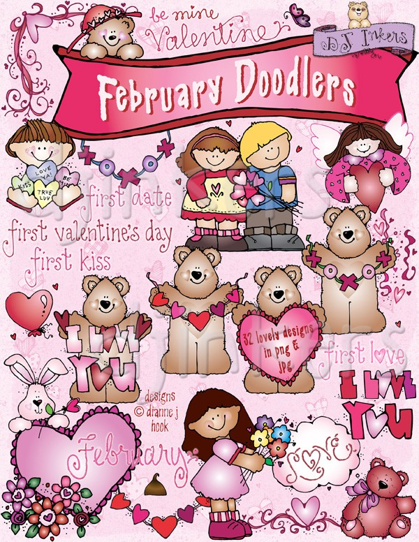 Saying clipart kid valentine #2