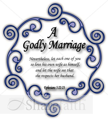 Saying clipart marriage  Godly Clipart Wedding Christian