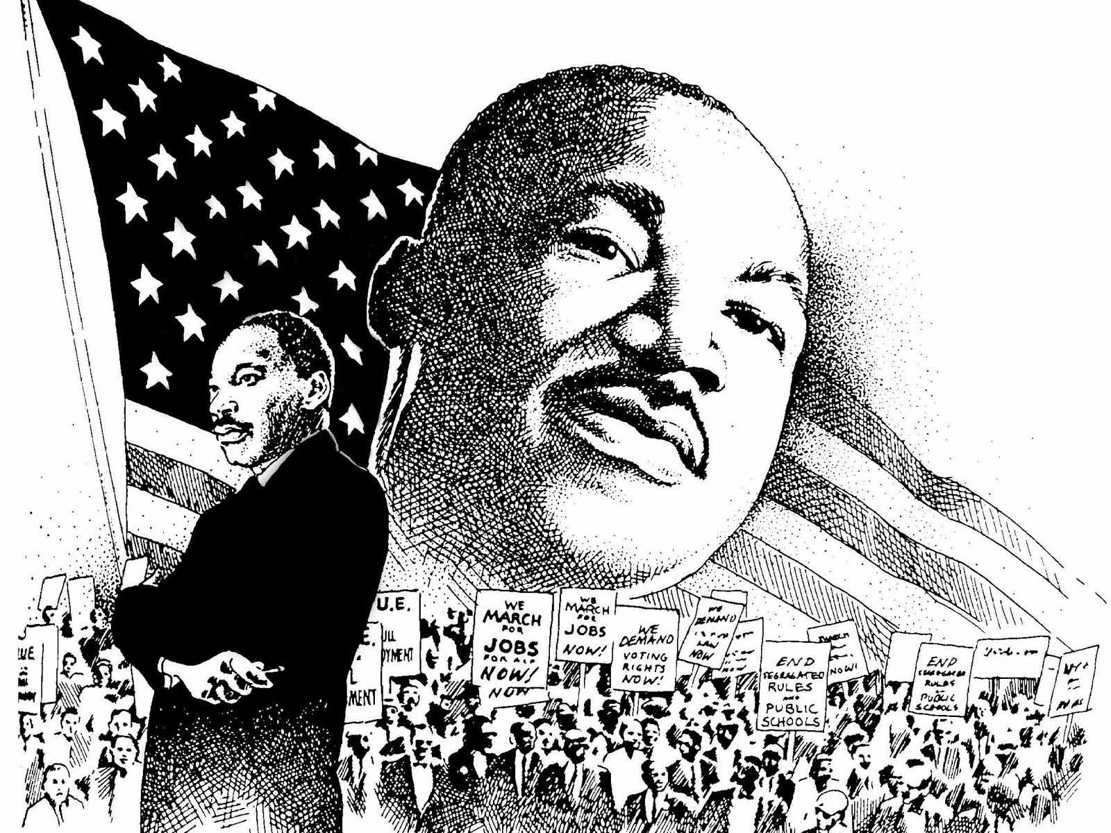 Saying clipart martin luther king #13