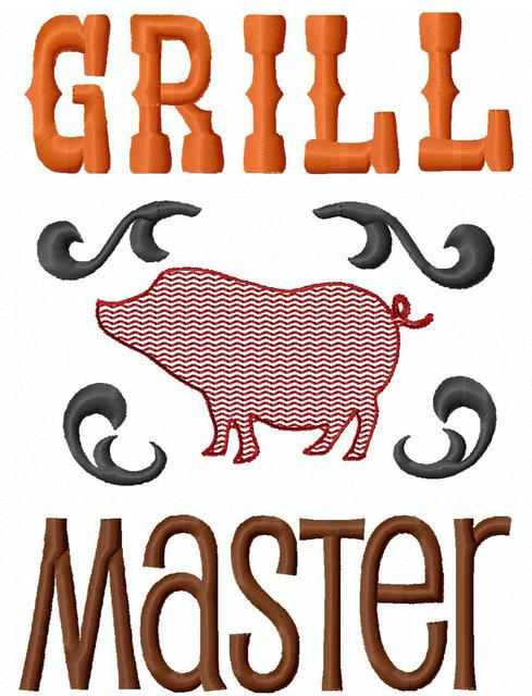 Saying clipart picnic Grill design design saying Master