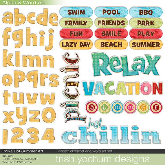 Park clipart the word Alphabet Summer Alphabet  Quotes