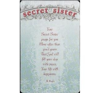 Saying clipart secret sister To enables 17 workshops our