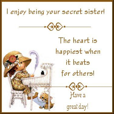 Saying clipart secret sister Ideas sister Secret Best From