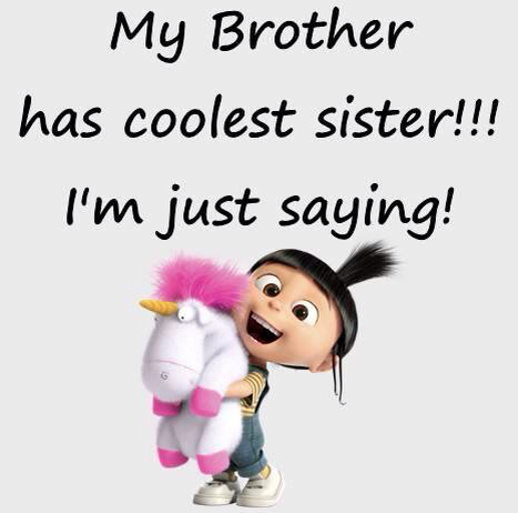 Saying clipart sister brother My has the has the