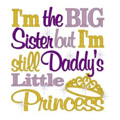 Saying clipart sister brother Big but I'm Sister Quotes