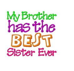 Saying clipart sister brother A the Sister Ever Happiness