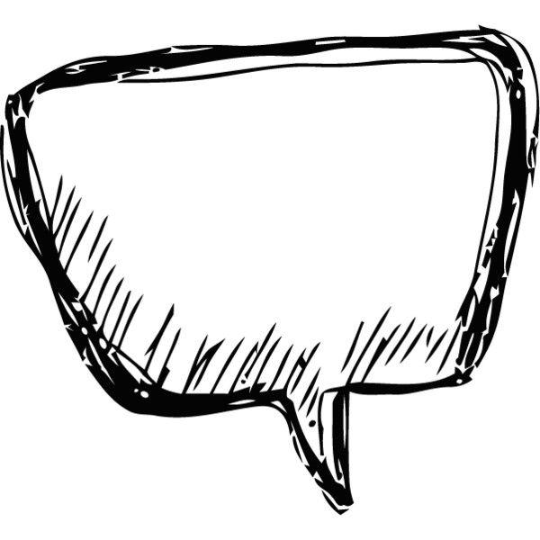 Saying clipart speech bubble #10