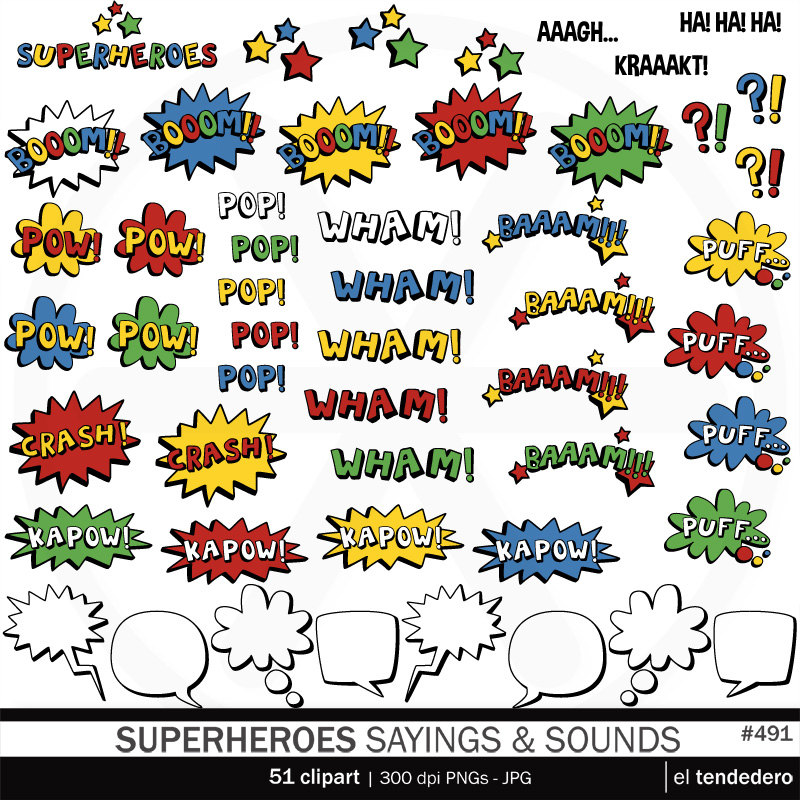 Saying clipart superhero New Clipart Sayings Sayings Clipart