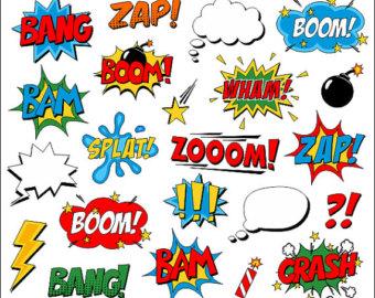 Saying clipart superhero #6