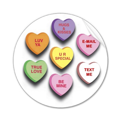 Saying clipart sweetheart candy #14