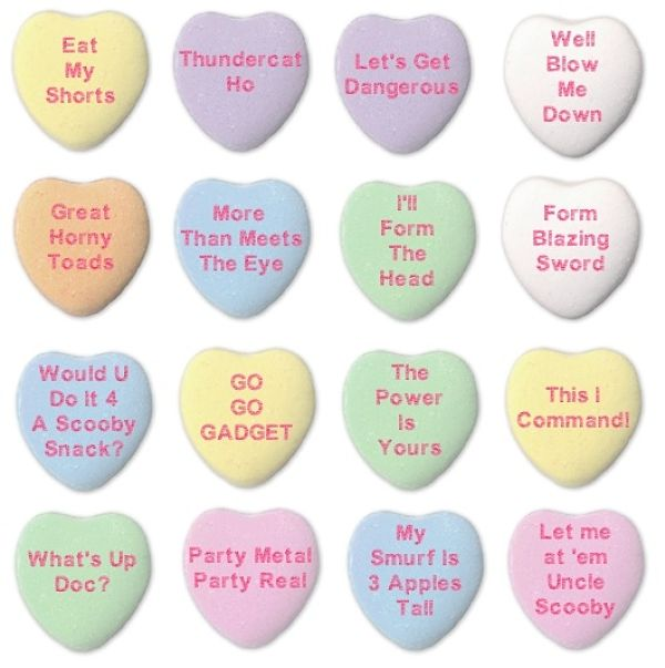 Saying clipart sweetheart candy #4