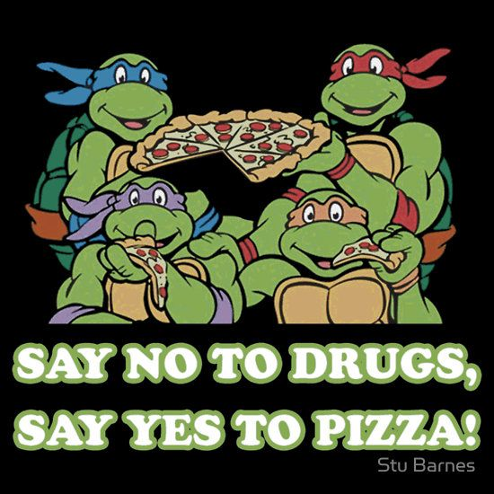 Saying clipart tmnt Best Pinterest Yes Drugs on
