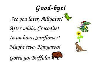 Hello! clipart farewell Hello Goodbye Clip Goodbye Clip