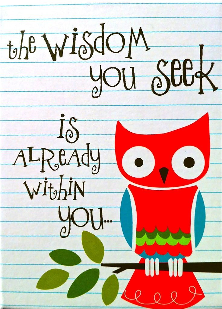 Owlet clipart friend Sayings sayings Owl Wise wise