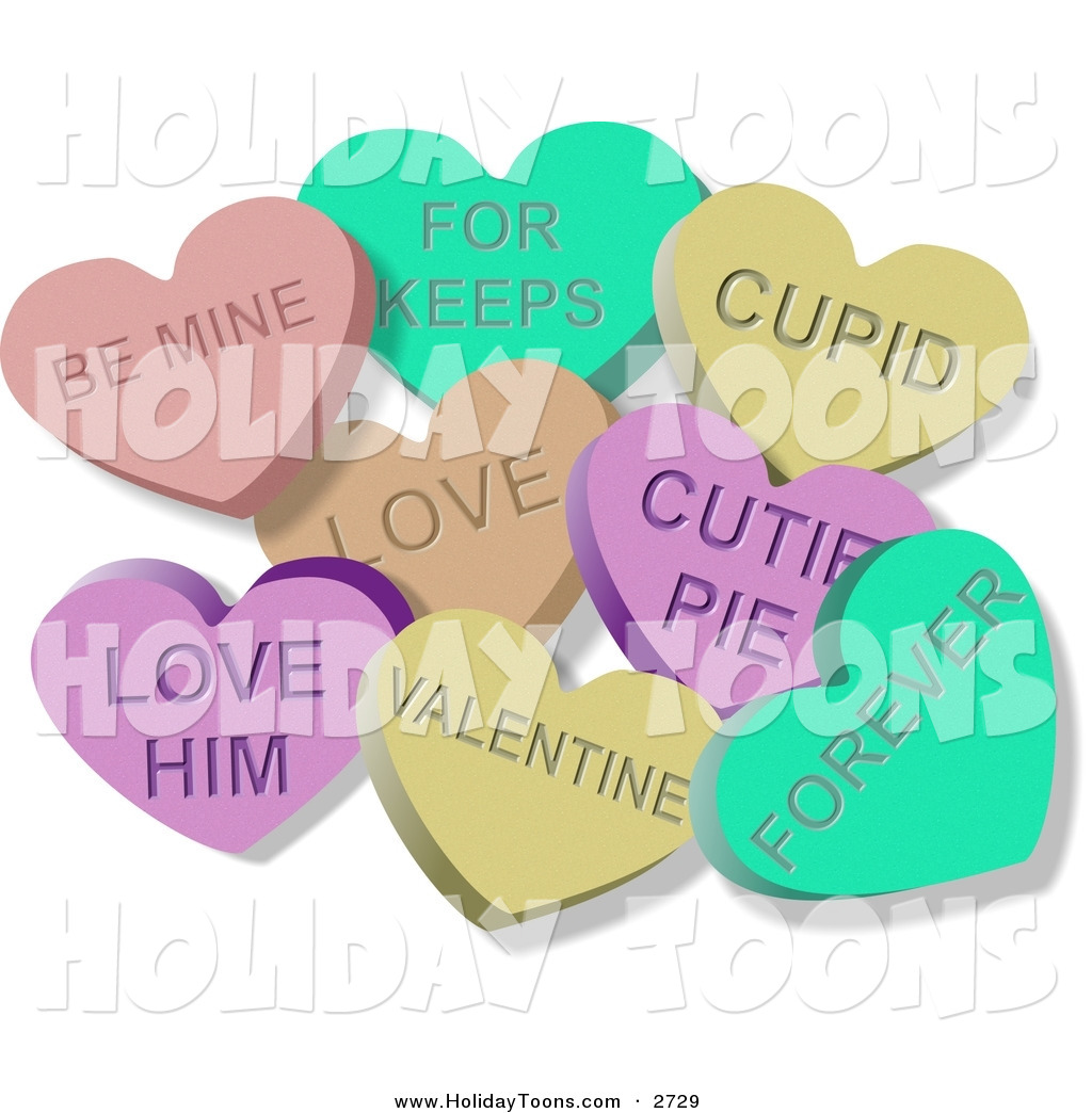 Saying clipart valentine candy #7