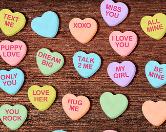 Saying clipart valentine candy #3