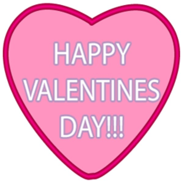 Saying clipart valentine's day #3