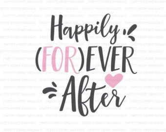 Wedding clipart saying Cutting SVG Girl Saying Ever