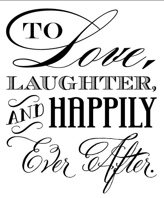 Wedding clipart saying Happily Wedding 547 best Can