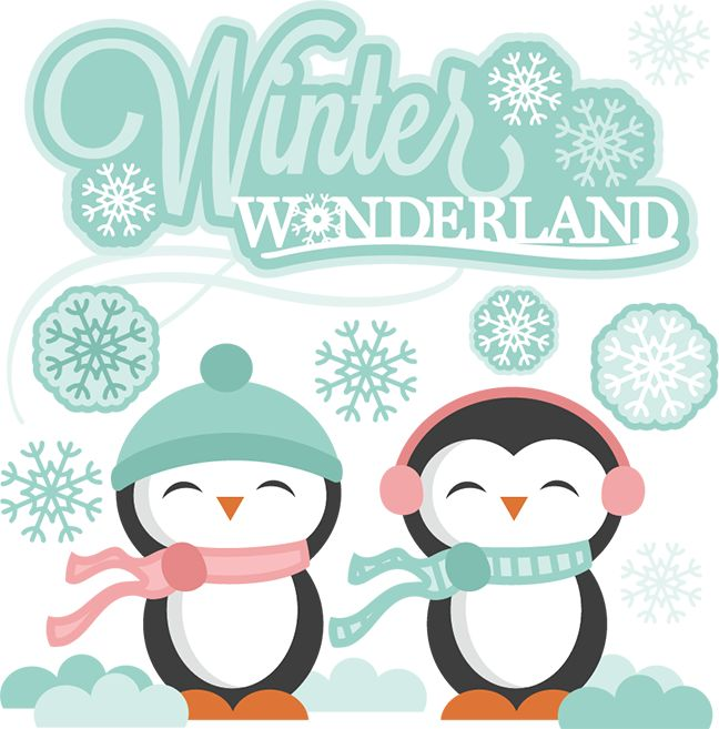 Holydays clipart winter wonderland Cut Pinterest cuts svg cutting