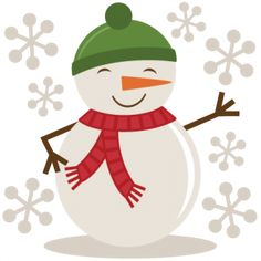 Snowman clipart cute  Clip Product Categories ManChristmas