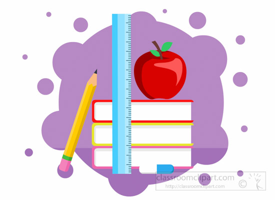 Geography clipart apple book Back Search From:  Size: