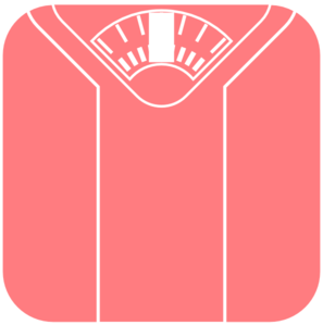 Scale clipart pink #15