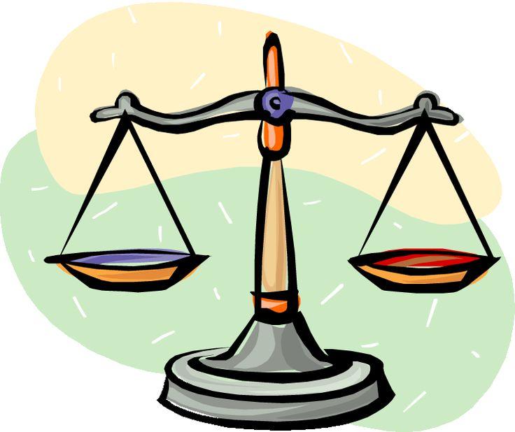 Scale clipart supreme court #11