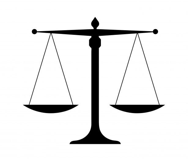 Scale clipart supreme court #6