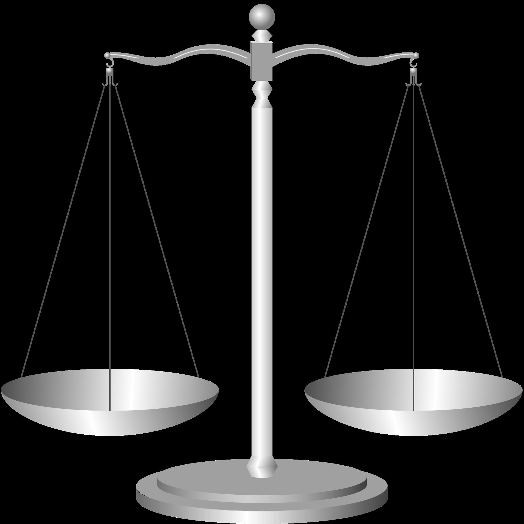 Scale clipart supreme court #4
